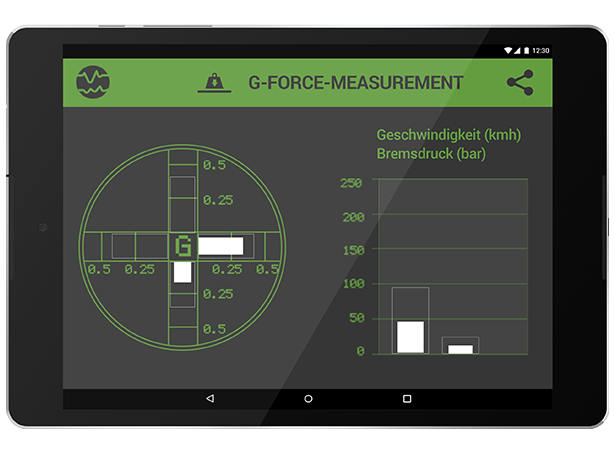 G-force measurement