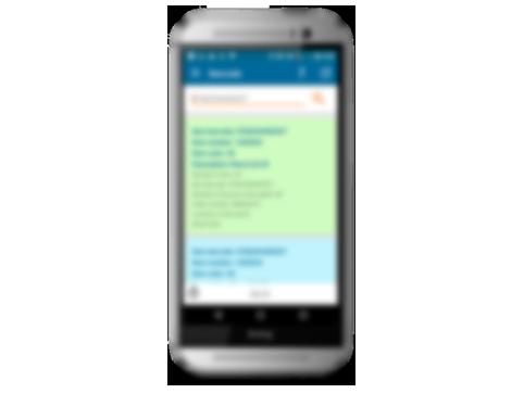 Scanner App für Android Plattform