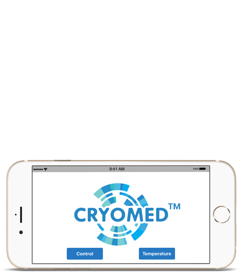 Remote control app for CryoSauna